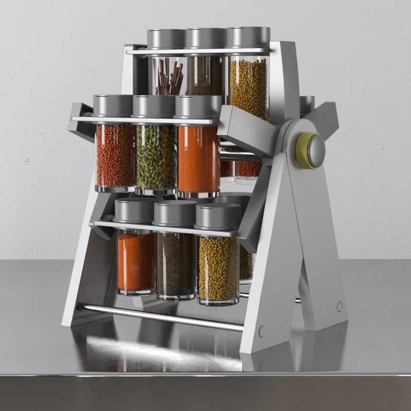 spice rack 27 AM145 Archmodels