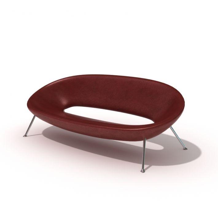 sofa 51 AM45 Archmodels