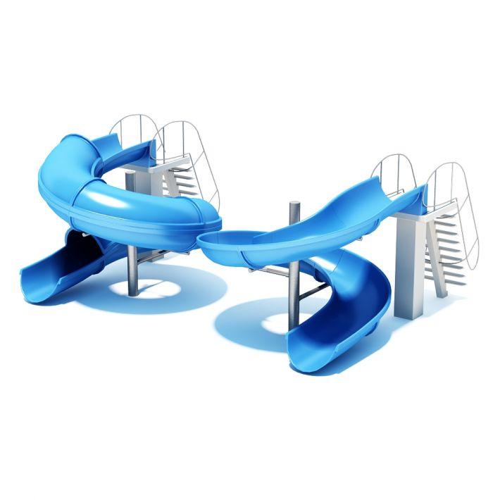 water slide 10 AM94 Archmodels