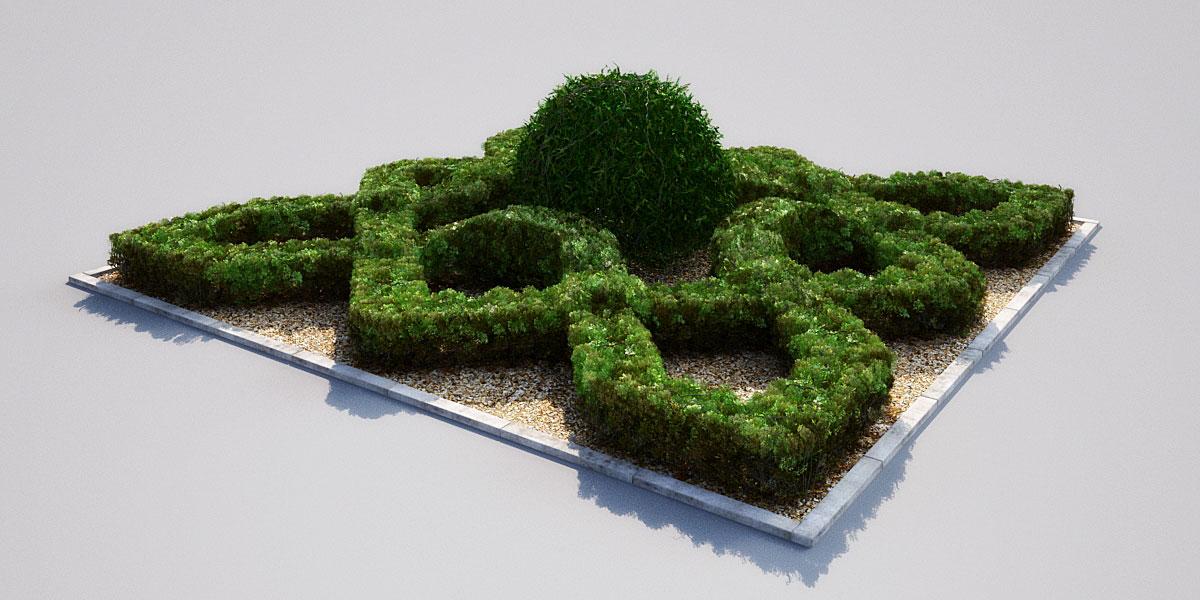 garden 17 AM148 Archmodels