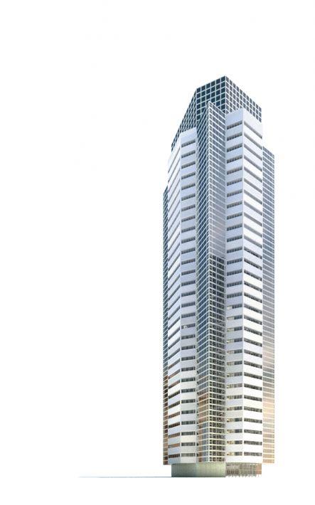 skyscraper 32 AM71 Archmodels