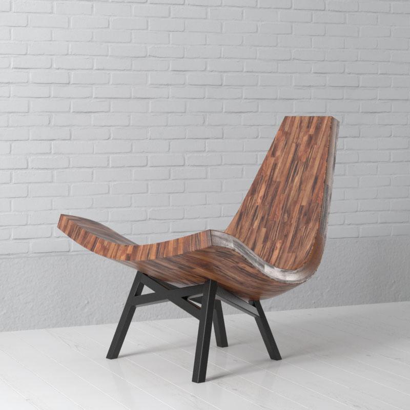 chair 1 AM157 Archmodels