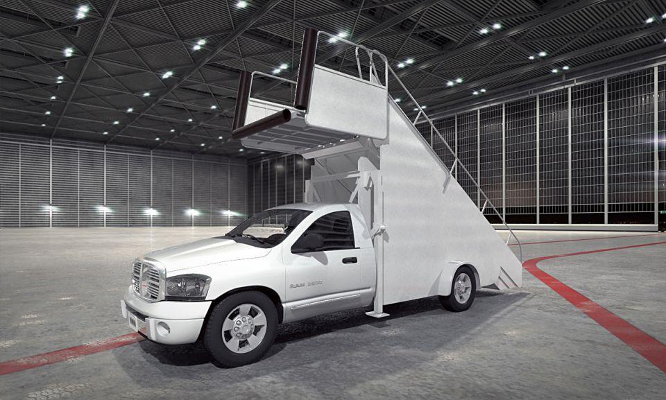 Lavatory truck AM73 Archmodels