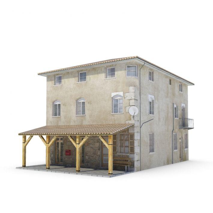 building 20 AM62 Archmodels