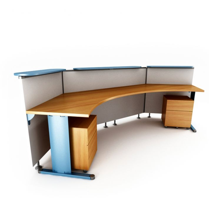reception desk 48 AM53 Archmodels