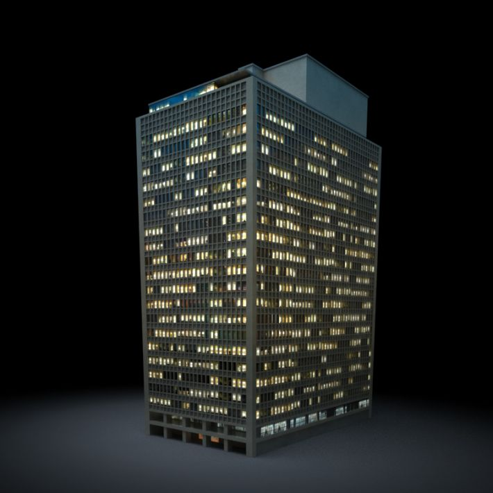 skyscraper 8 AM103 Archmodels