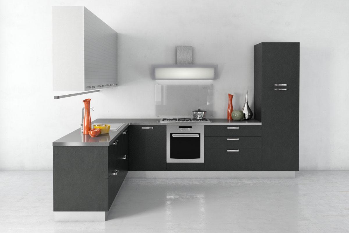 Kitchen 3d Model kitchen 29 am137 - max, c4d, obj, fbx 3d model - evermotion