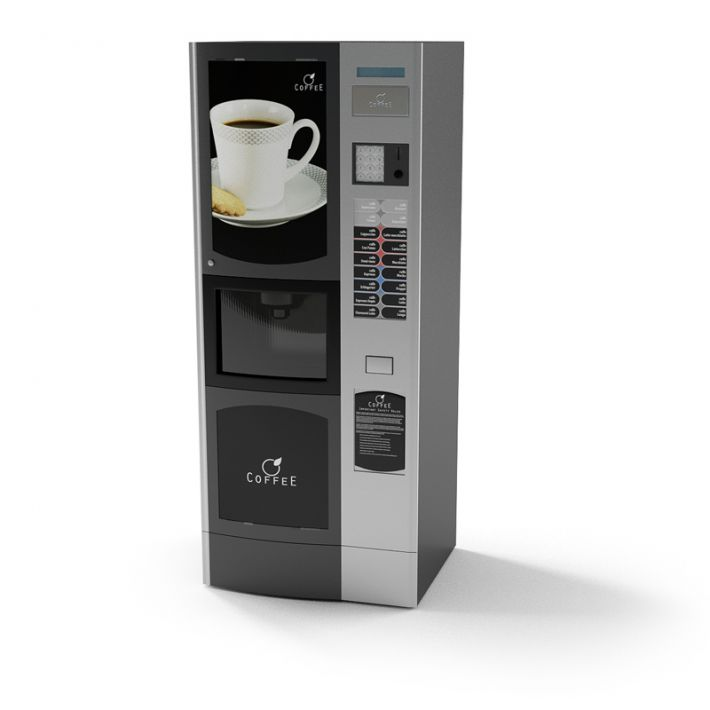 coffee vending machine 25 AM87 Archmodels