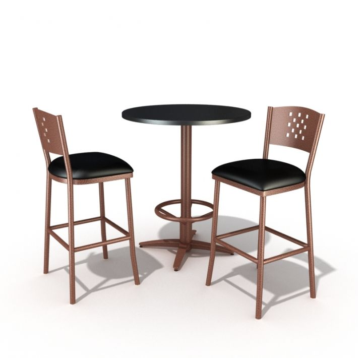 table and chair set 52 AM54 Archmodels