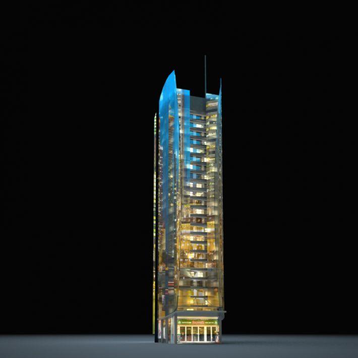 skyscraper 47 AM103 Archmodels
