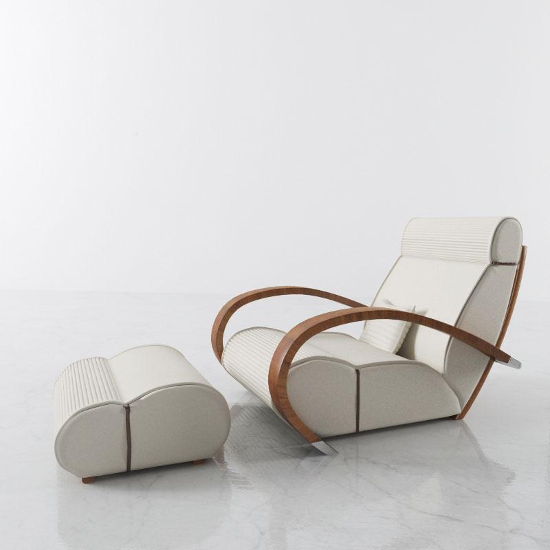 armchair 47 AM142 Archmodels