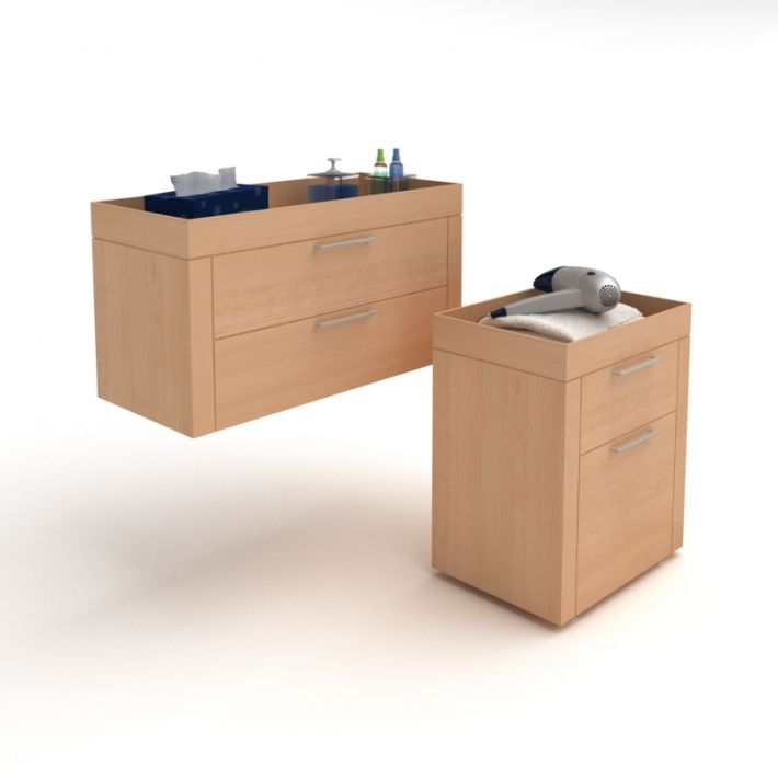bathroom furniture set 36 AM56 Archmodels