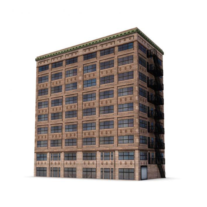 building 44 AM62 Archmodels