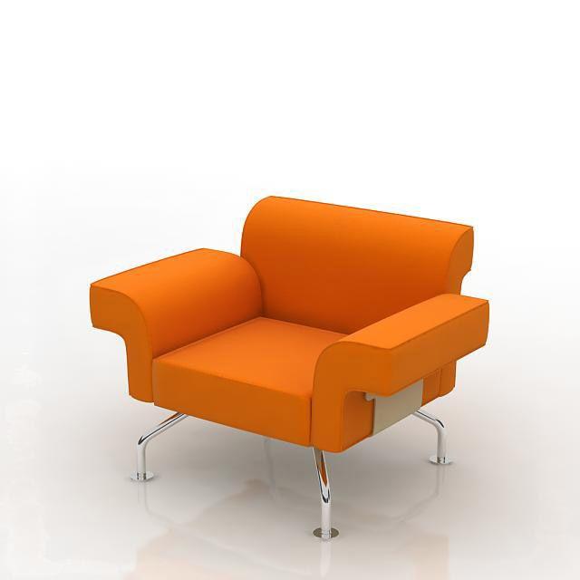 armchair 55 AM8 Archmodels
