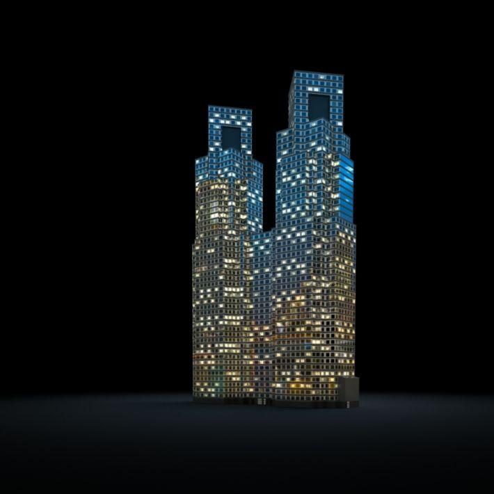 skyscraper 62 AM103 Archmodels