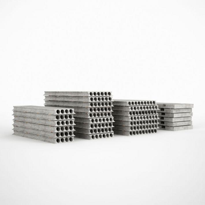 concrete plates 39 AM115 Archmodels