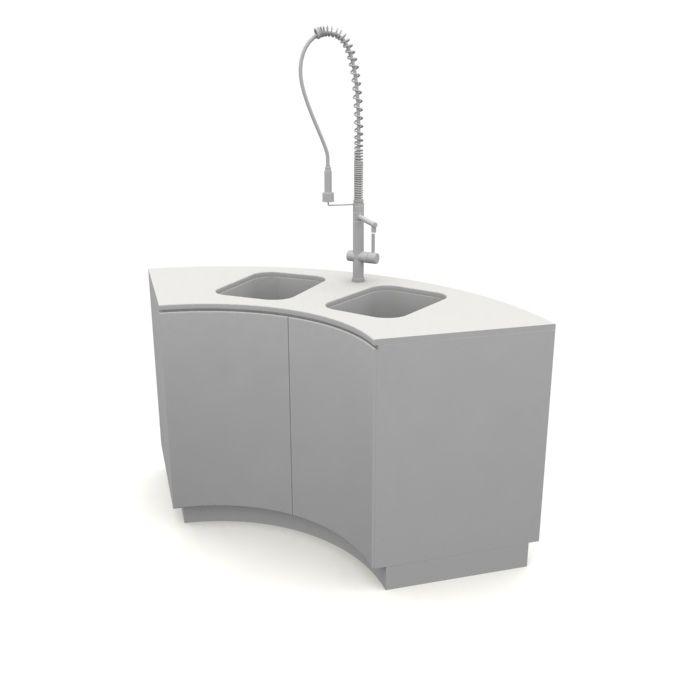 kitchen sink 59 AM10 Archmodels