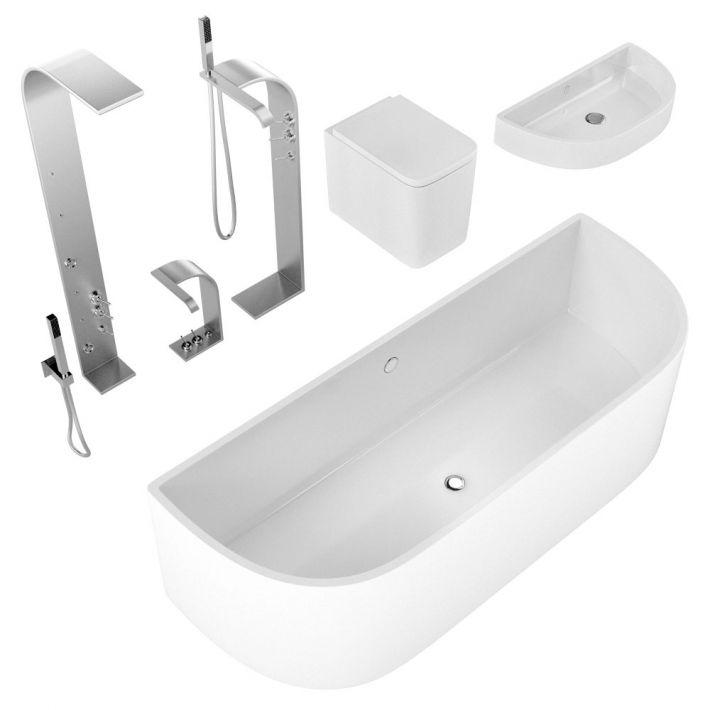 bathroom fixtures 24 AM127 Archmodels