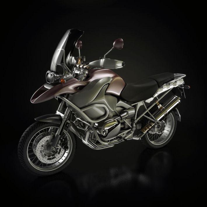 motorbike 3 AM93 Archmodels