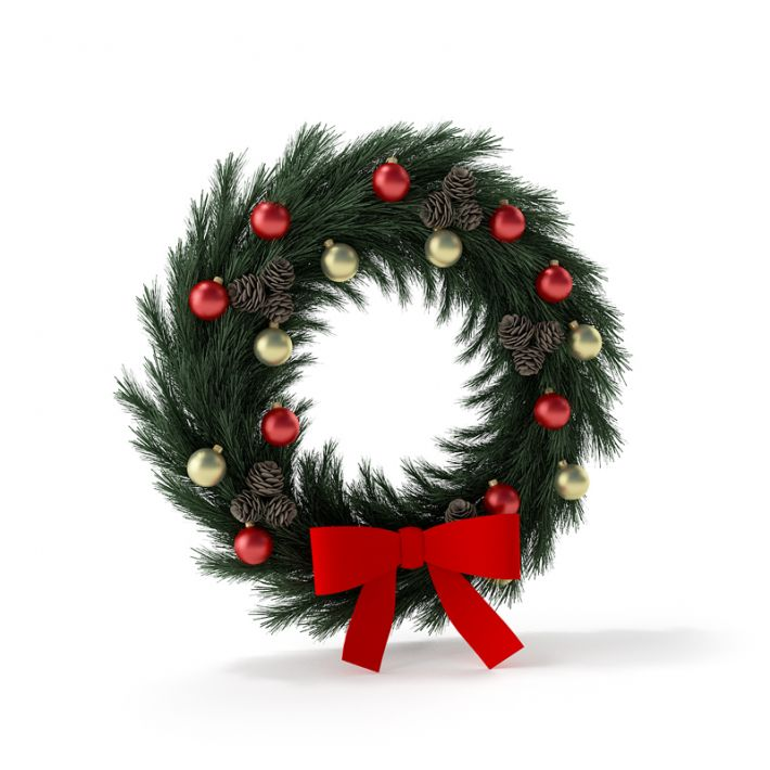 Christmas wreath 11 AM88