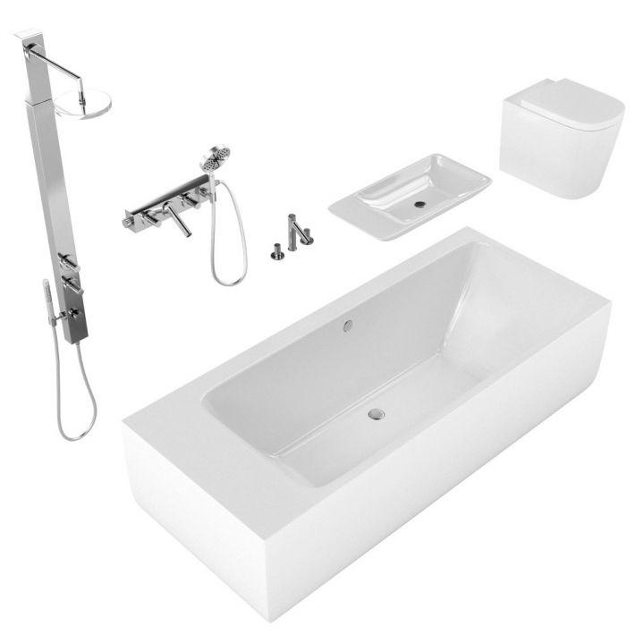 bathroom fixtures 14 AM127 Archmodels