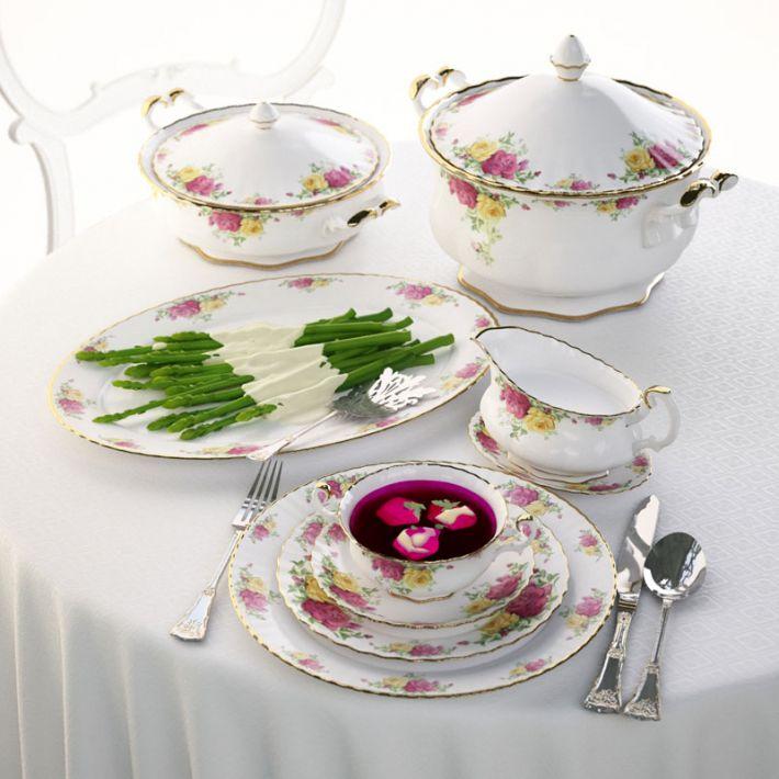 porcelain set 5 AM108 Archmodels