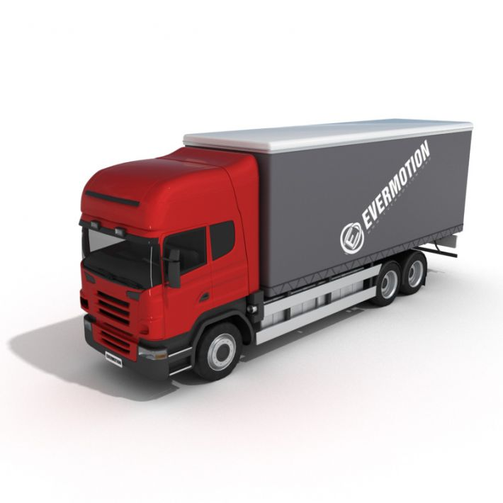 truck 17 AM5 for Cinema4D Archmodels