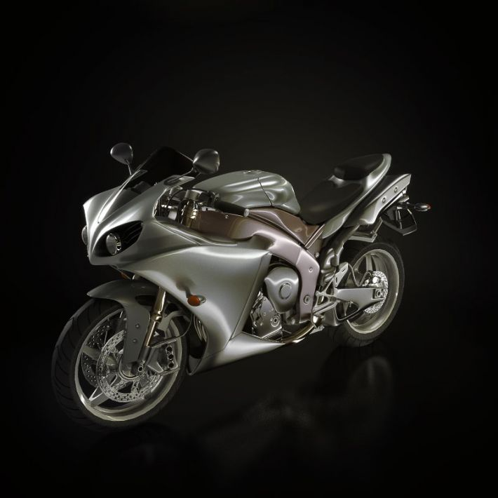 motorbike 12 AM93 Archmodels