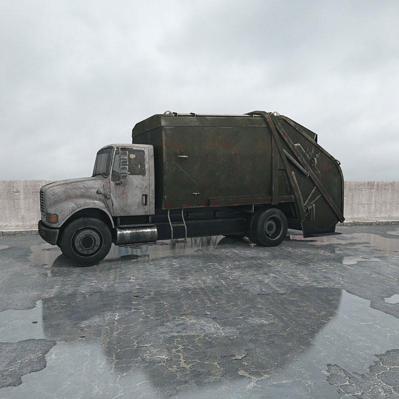 destroyed truck 010 am165