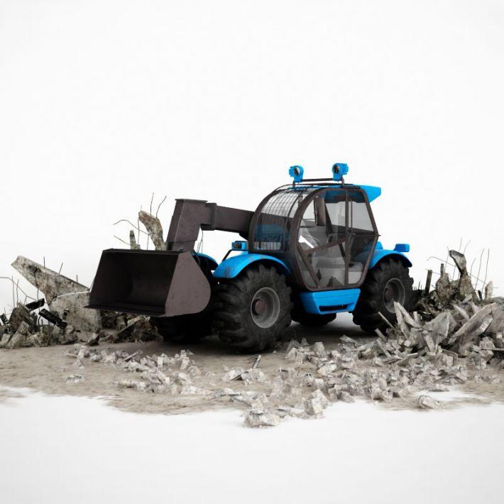 excavator 32 AM115 Archmodels