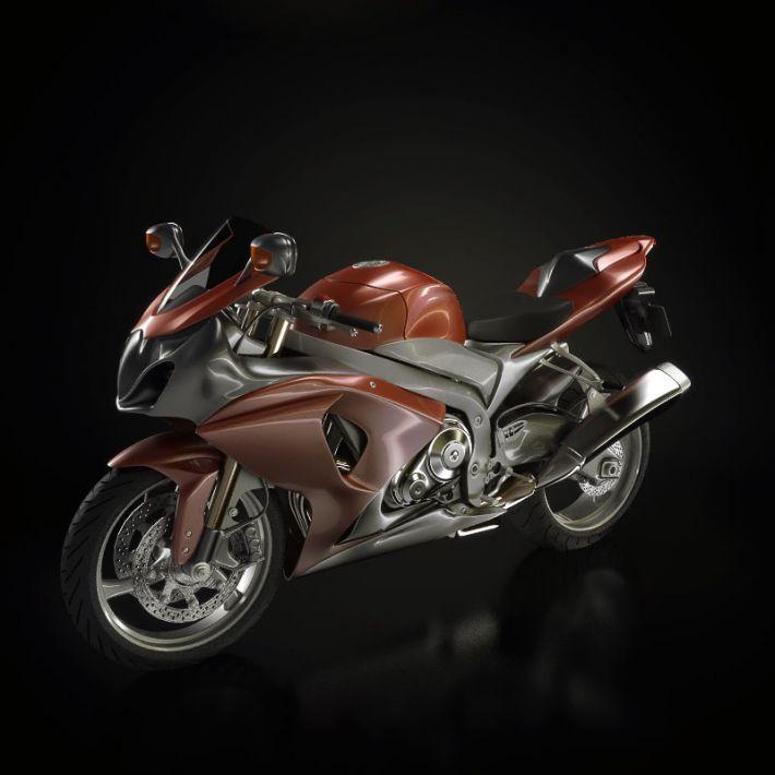 motorbike 8 AM93 Archmodels