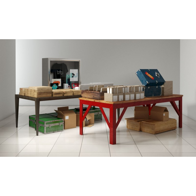 store fixtures 1 AM161 Archmodels