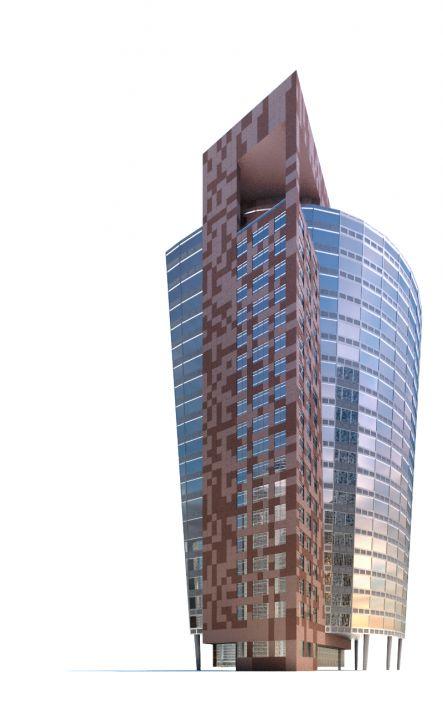 skyscraper 62 AM71 Archmodels