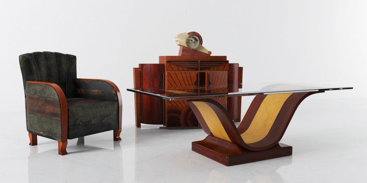 furniture set 4 AM142 Archmodels