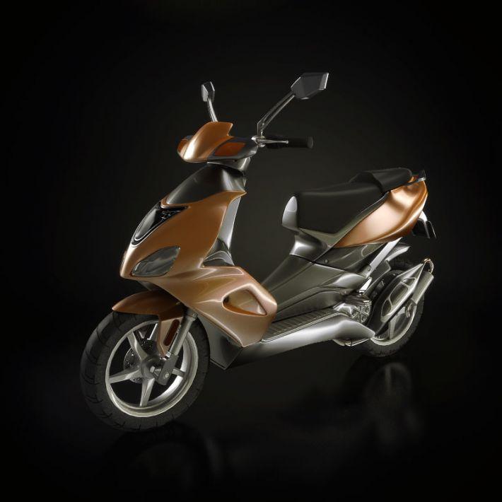 motorbike 2 AM93 Archmodels