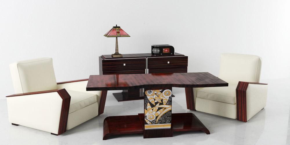 furniture set 2 AM142 Archmodels