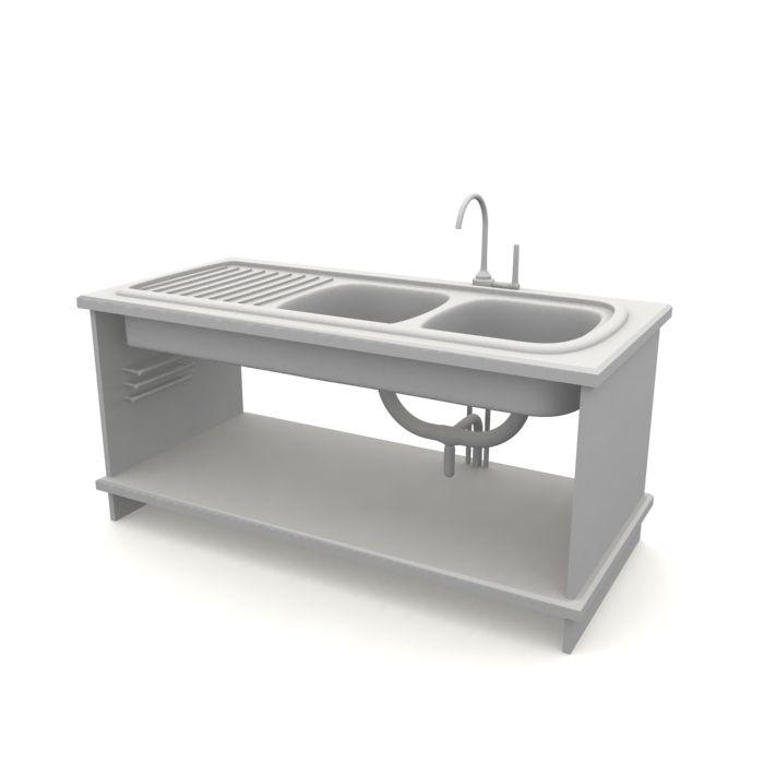 kitchen sink 56 AM10 Archmodels