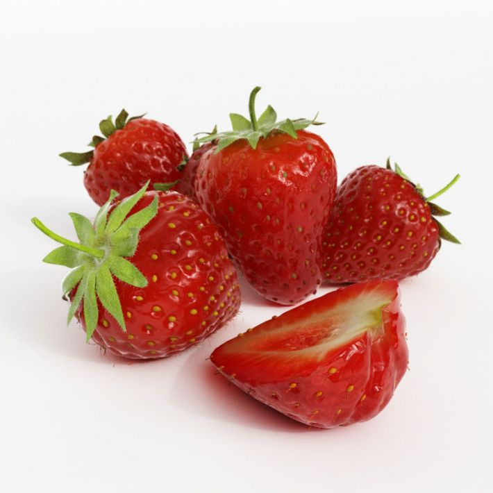 strawberries 24 AM130 Archmodels