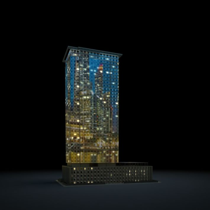 skyscraper 72 AM103 Archmodels