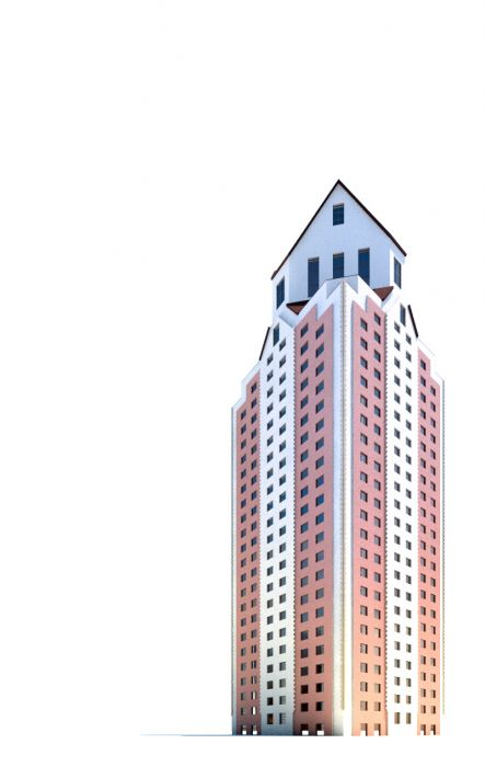 skyscraper 56 AM71 Archmodels