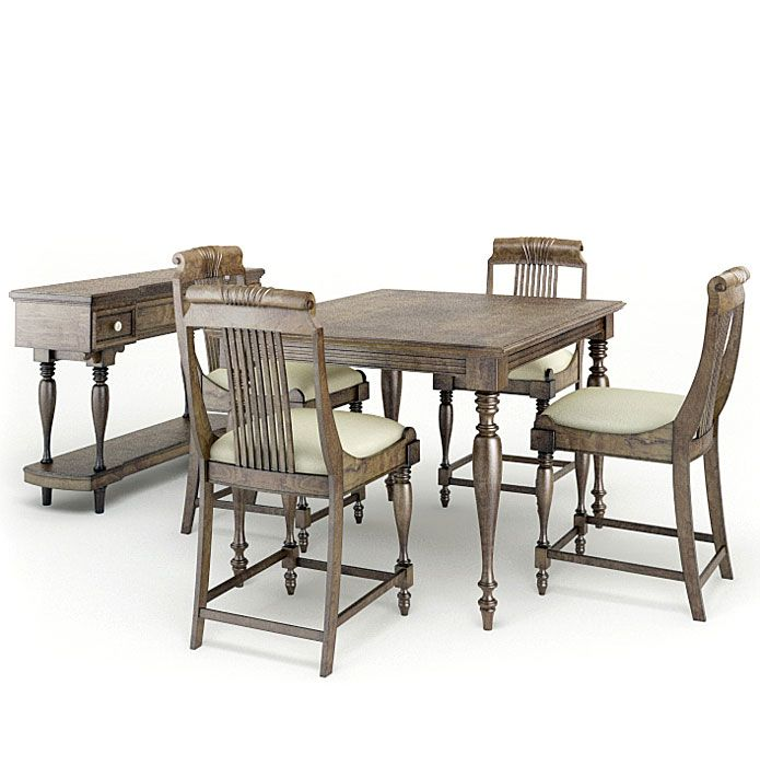 American furnitures set 9 AM65 Archmodels