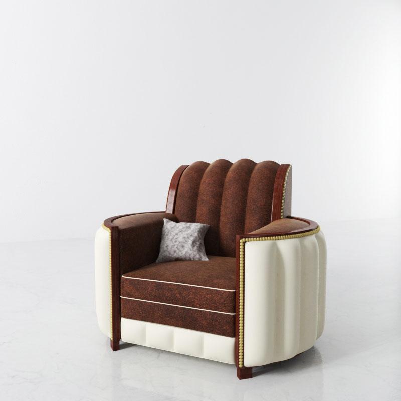 armchair 28 AM142 Archmodels