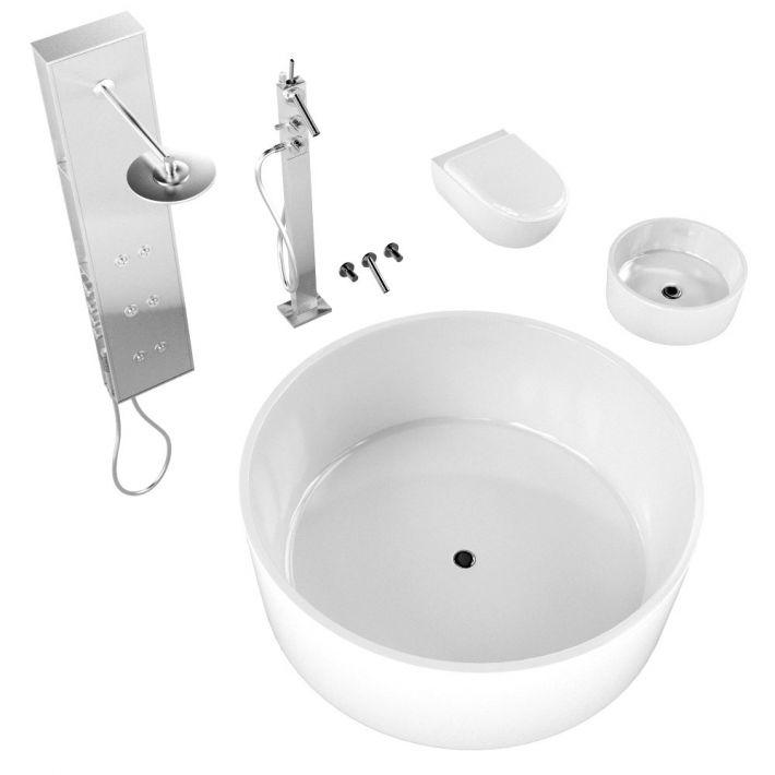 bathroom fixtures 3 AM127 Archmodels