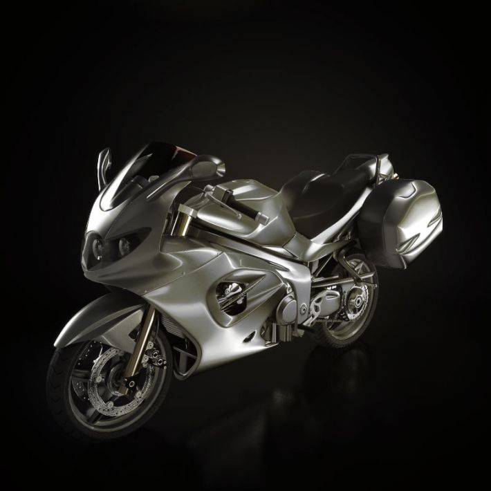 motorbike 11 AM93 Archmodels