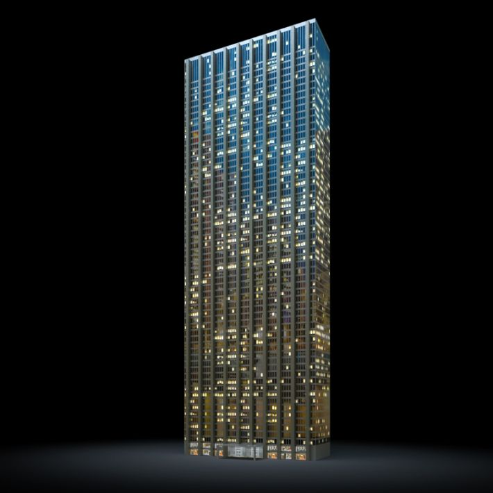skyscraper 39 AM103 Archmodels