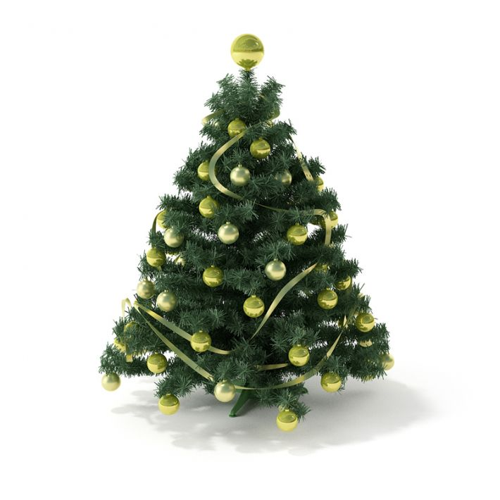 Model Of Christmas Tree: Christmas Tree 6 AM88 Archmodels