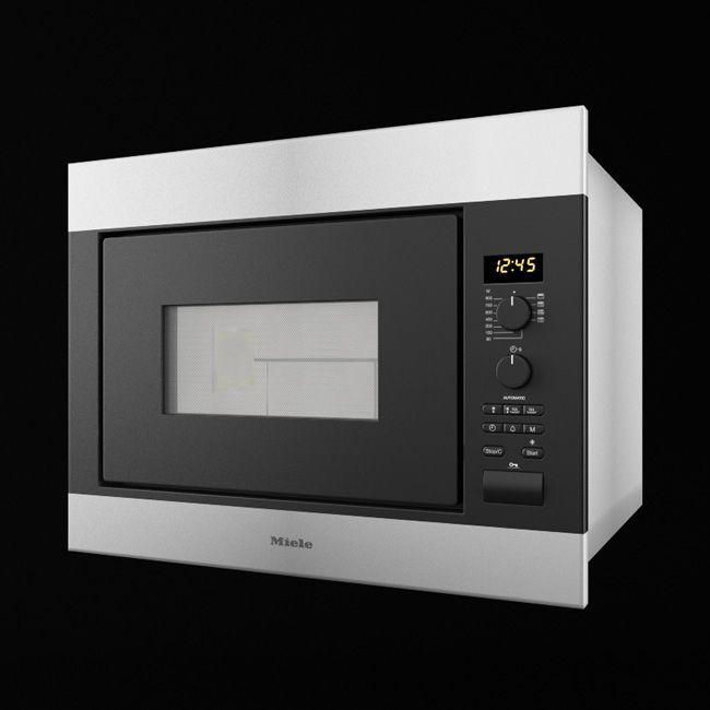 Miele Microwa kitchen appliance 1 AM68 Archmodels