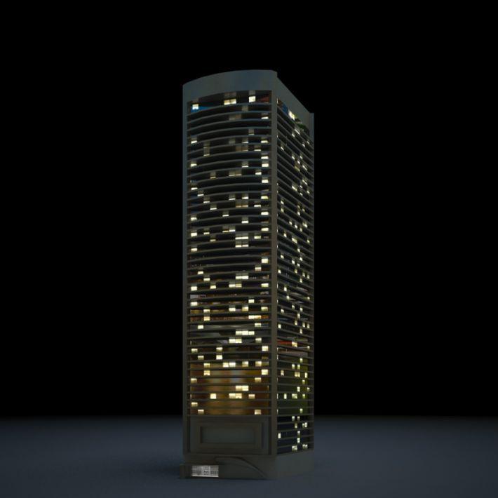 skyscraper 79 AM103 Archmodels