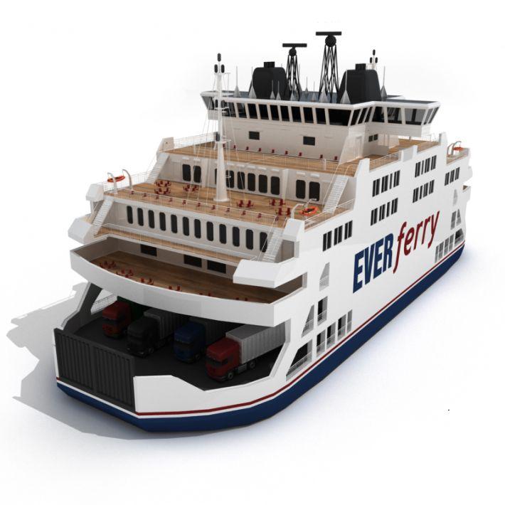 ferry 28 AM55 Archmodels