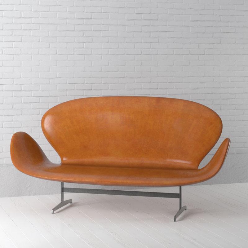 sofa 64 AM157 Archmodels